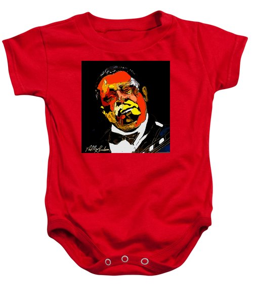 tribute to BB King reworked Baby Onesie