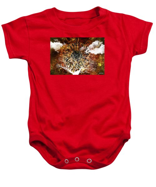 Try Everything Baby Onesie by Paulo Zerbato
