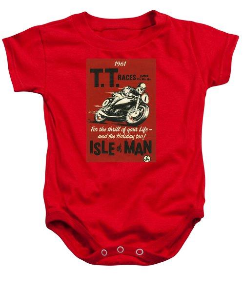 Tt Races 1961 Baby Onesie