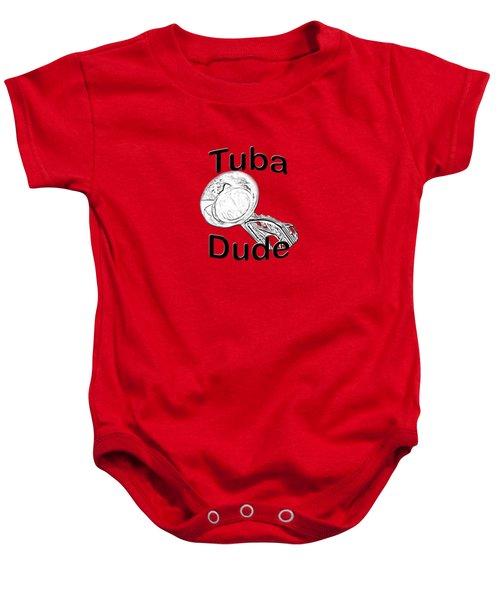 Tuba Dude Baby Onesie