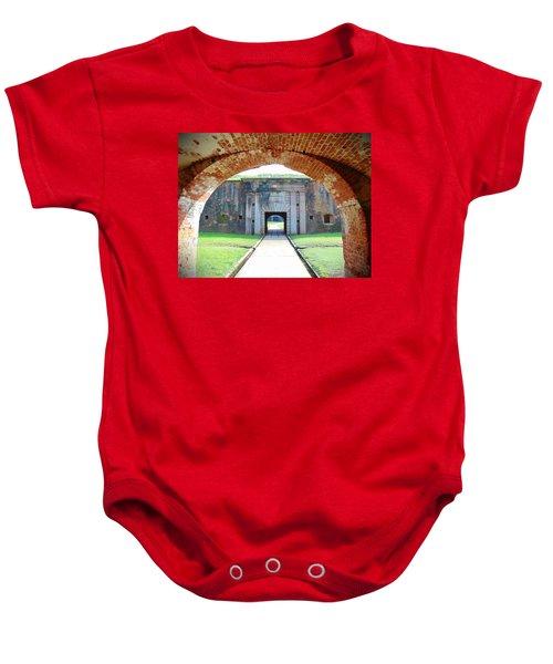 Tunnel Vision Baby Onesie