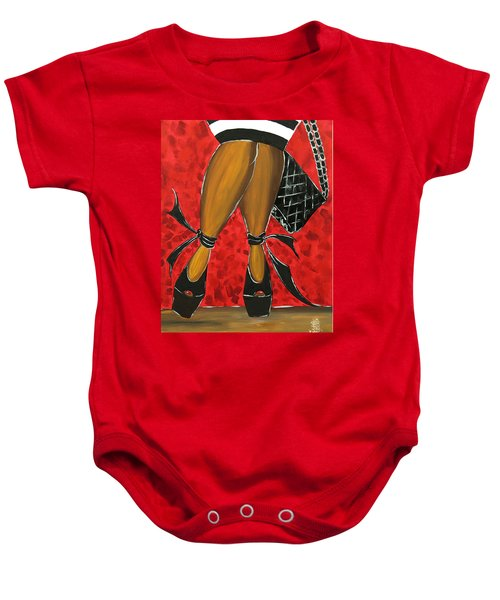 Two Stepping Baby Onesie