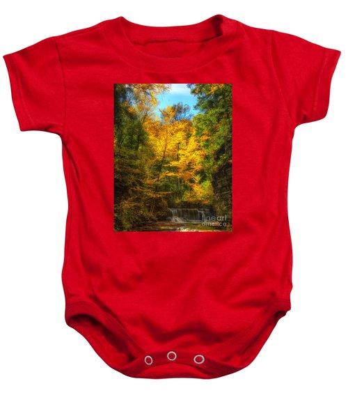 Upper Pinnacle Falls Baby Onesie