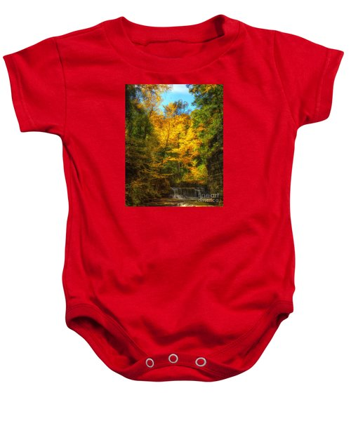 Upper Pinnacle Falls Baby Onesie