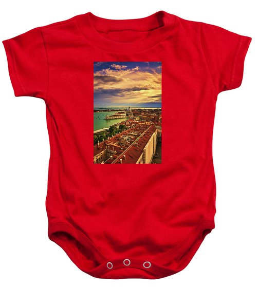 From The Bell Tower In Venice, Italy Baby Onesie