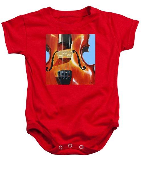 Violin Baby Onesie