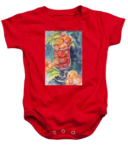 Watercolor Series No. 214 Baby Onesie