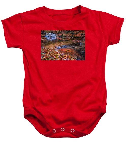 Waterfall-4 Baby Onesie