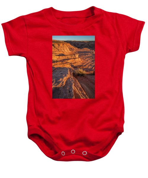 Waterhole Canyon Sunset Vista Baby Onesie