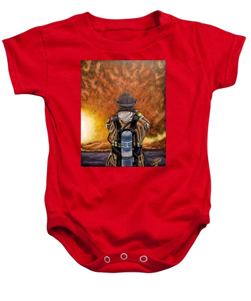 When Hell Comes To Visit Baby Onesie
