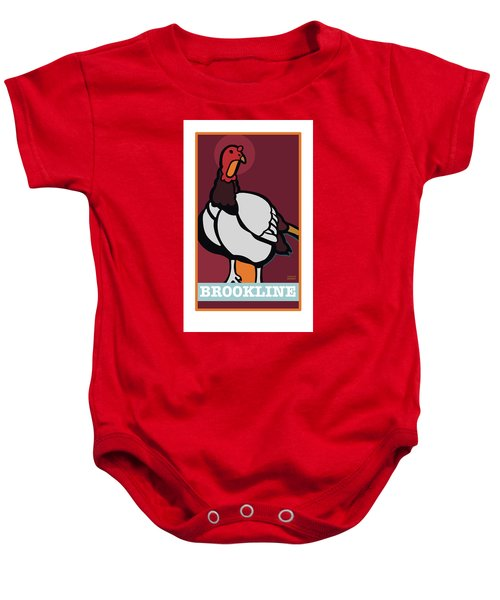 Ghost Turkey Baby Onesie