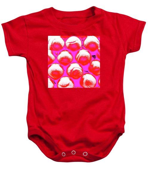 Pop Art Tennis Balls Baby Onesie