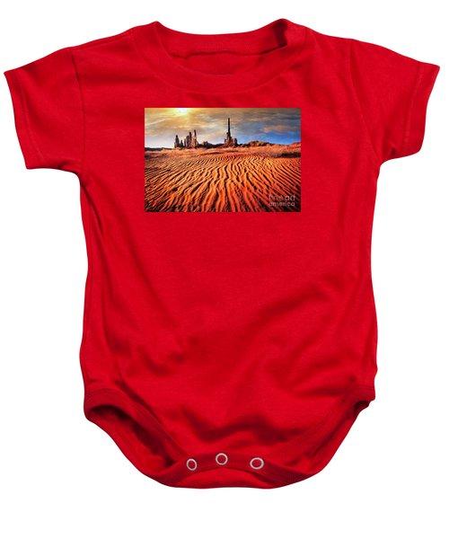 Totem Dunes Baby Onesie