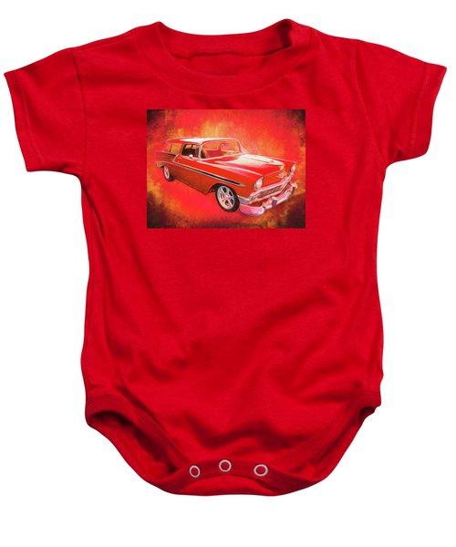 1956 Chevy Nomad Baby Onesie