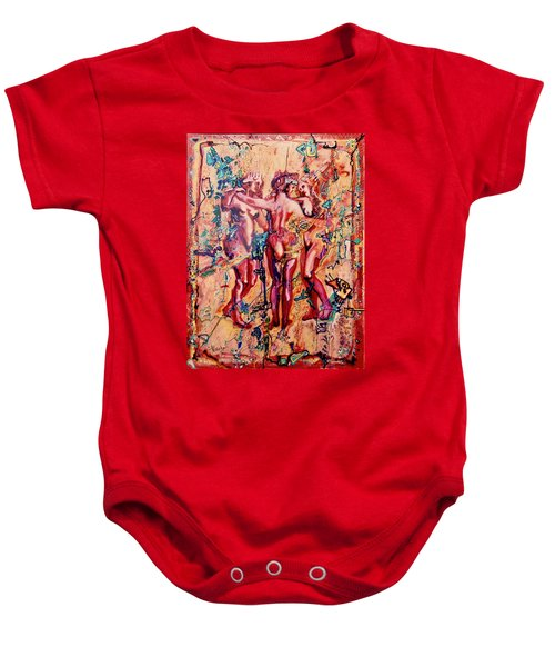 3 Virgins - Rubens, Airbrush 1990 Baby Onesie