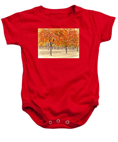 A Touch Of Winter Baby Onesie