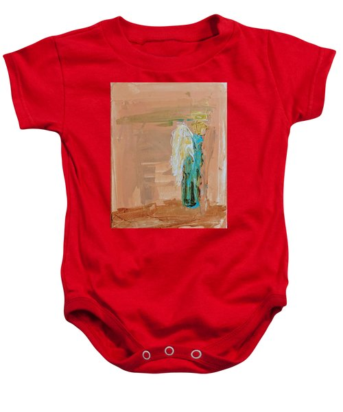 Angel Boy In Time Out  Baby Onesie