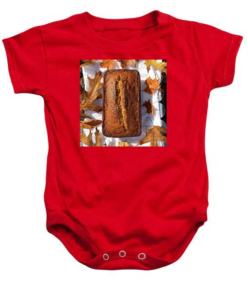 Banana Bread With Rum, Ginger And White Whole Wheat Baby Onesie
