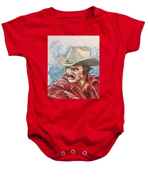 Burt Reynolds Baby Onesie