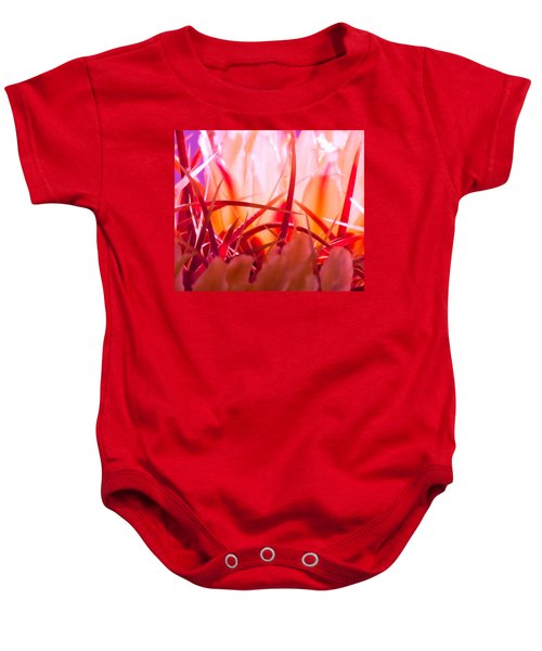 Cactus Cathedral Baby Onesie