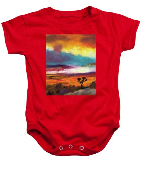Cindy Beuoy - Arizona Sunset Baby Onesie
