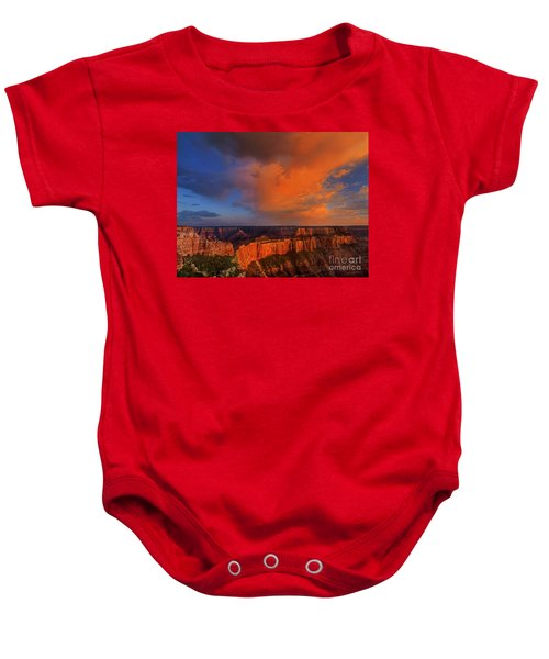 Clearing Storm Cape Royal North Rim Grand Canyon Np Arizona Baby Onesie