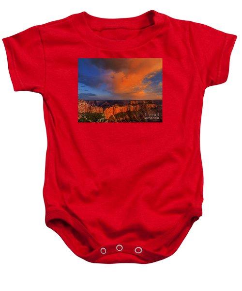 Clearing Storm Cape Royal North Rim Grand Canyon Np Arizona Baby Onesie