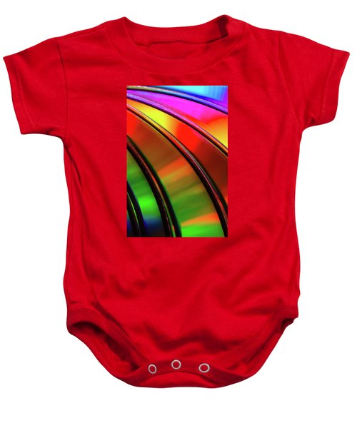 Baby Onesie featuring the photograph Colorful Edges by John Bauer