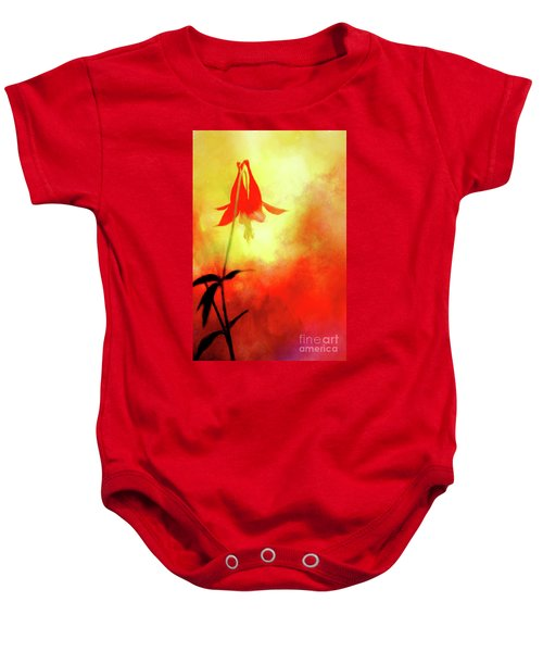 Columbine Sunset Baby Onesie