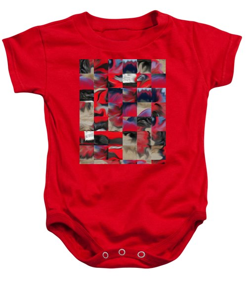 Coupe Rouge Baby Onesie