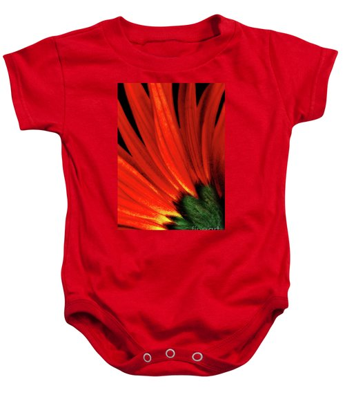 Daisy Aflame Baby Onesie
