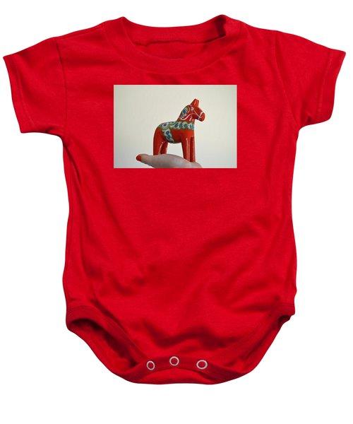 Dala Horse Baby Onesie