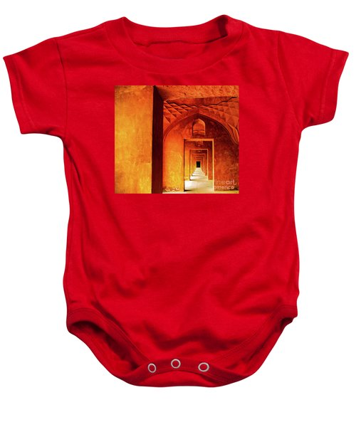 Doors Of India - Taj Mahal Baby Onesie