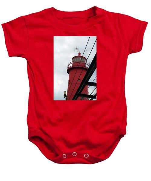 Dressed In Red Baby Onesie