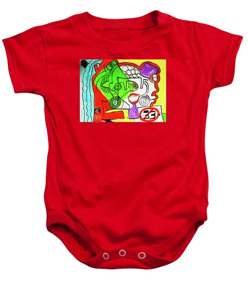 Emotions Baby Onesie