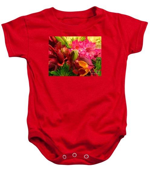 Flower Bunch Baby Onesie