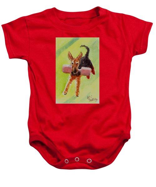 Flying Dale Baby Onesie