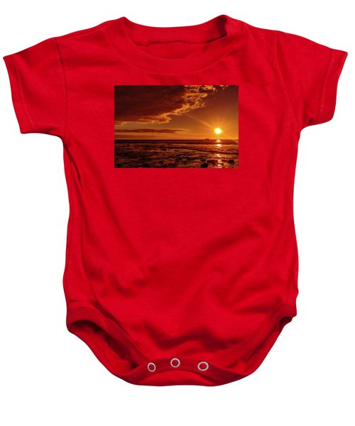 Friday Sunset Baby Onesie