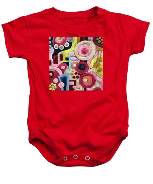 Geometric Abstract 1 Baby Onesie