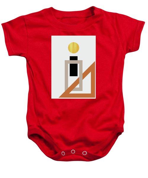Geometric Painting 10 Baby Onesie