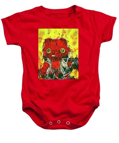 Hellboy Baby Onesie