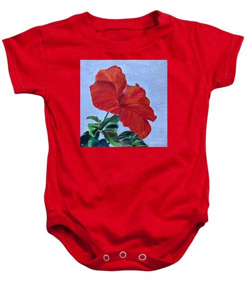 Hibiscus Baby Onesie
