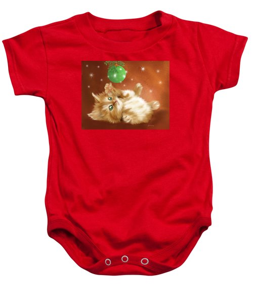 Holiday Kitty Baby Onesie