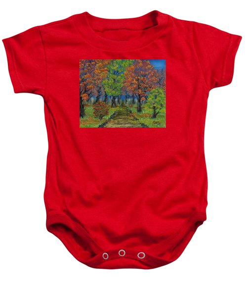 In The Fall Baby Onesie