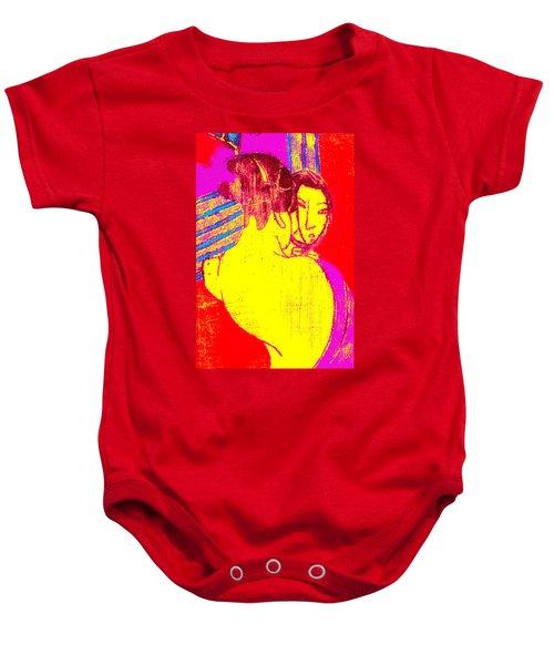 Japanese Pop Art Print 1 Baby Onesie