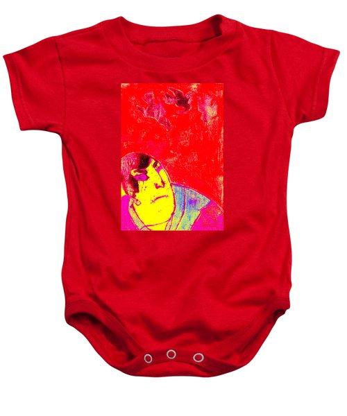 Japanese Pop Art Print 6 Baby Onesie