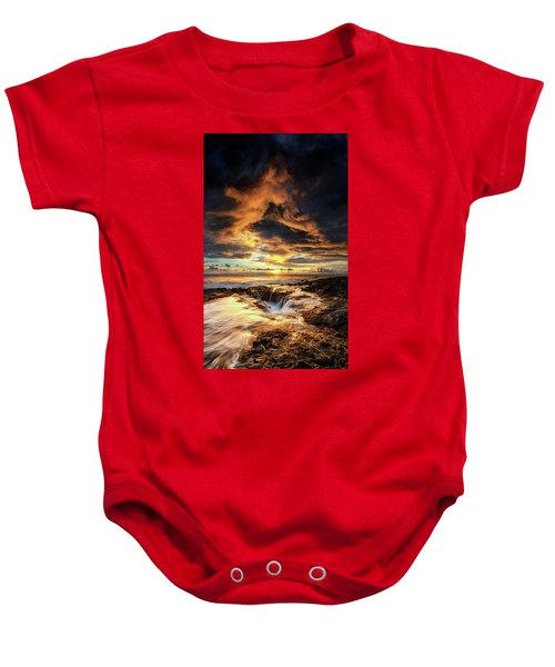 Kona Sunset Baby Onesie