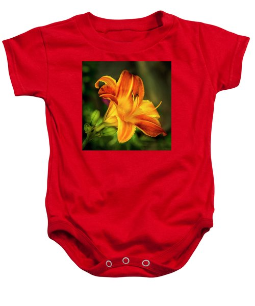 Lily Of The Day Baby Onesie