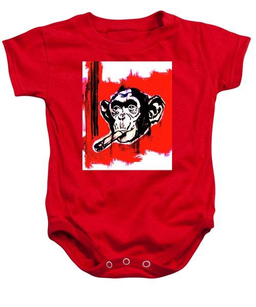 Monkey Business Baby Onesie
