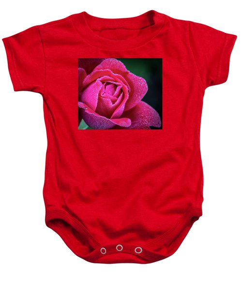Morning Rose Baby Onesie